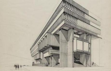 This year marks the 50th anniversary of a design competition in which architects were invited to imagine a new Boston City Hall.